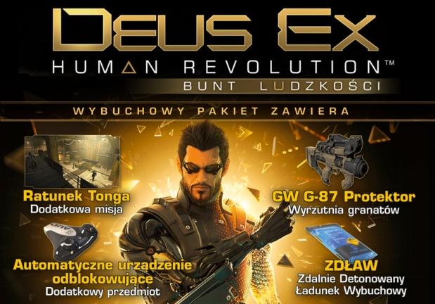 Deus Ex Bunt Ludzkosci Wybuchowy Pakiet DLC