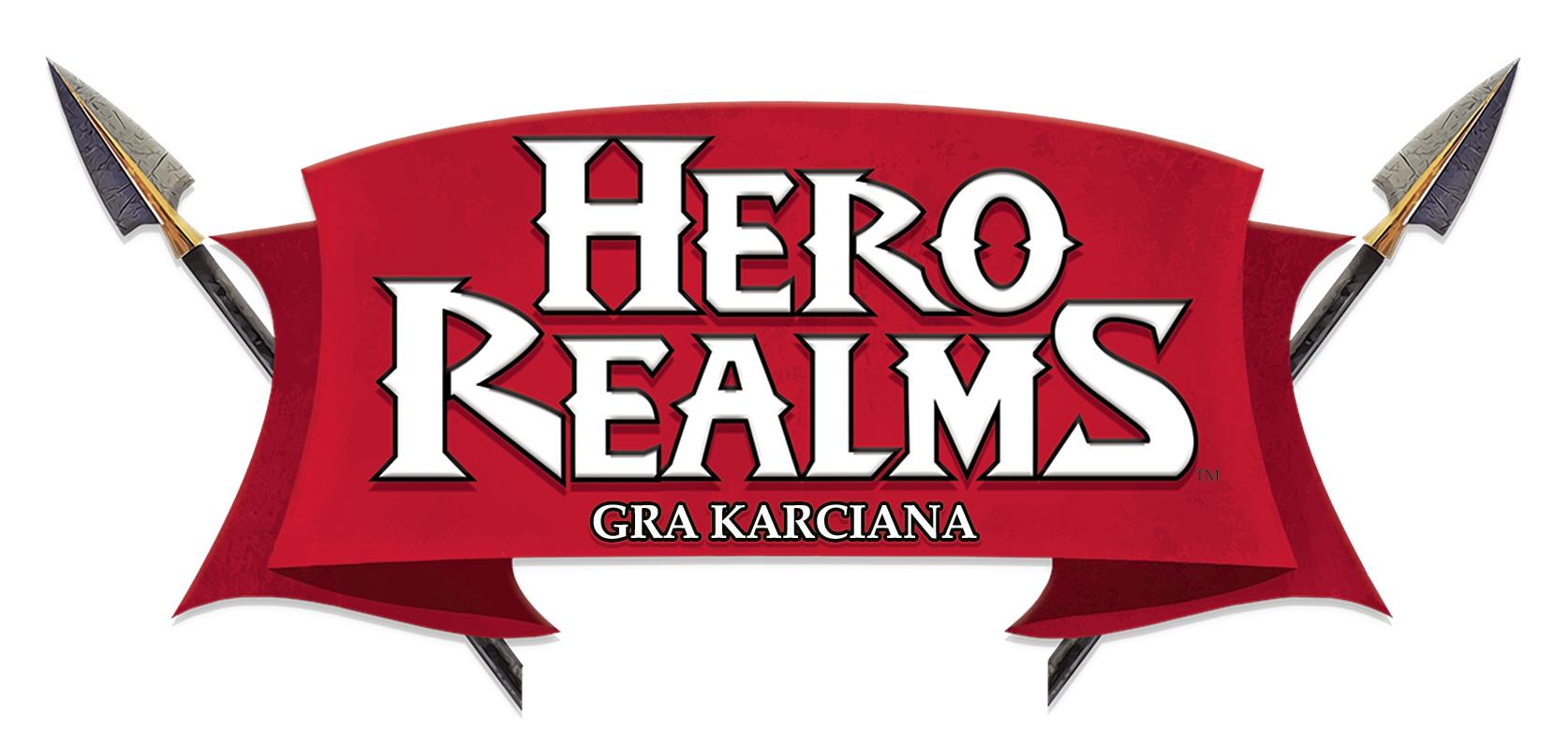 Logo gry karcianej Hero Realms