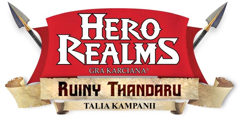 Logo gry karcianej Hero Realms Ruiny Thandaru