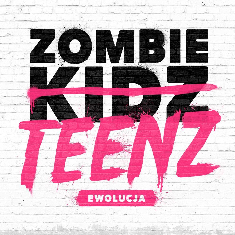 Logo gry planszowej zombie teenz ewolucja