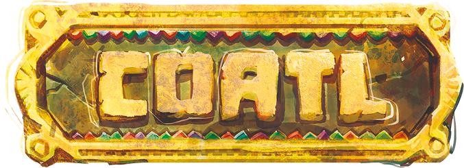Logo gry planszowe Coatl
