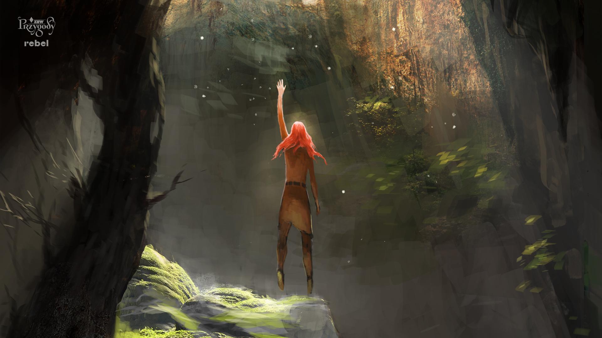 Grafika z planszówki Zew przygody