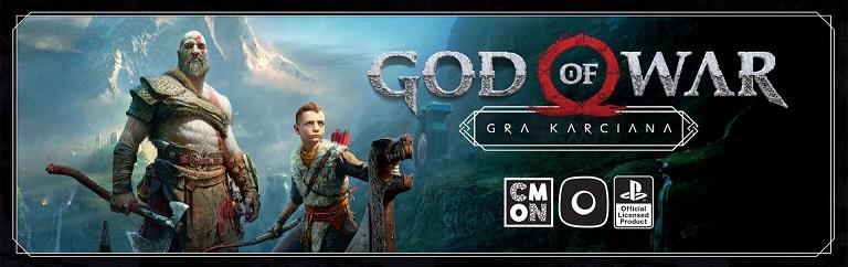 Baner gry karcianej God of War - Kratos i Atreus