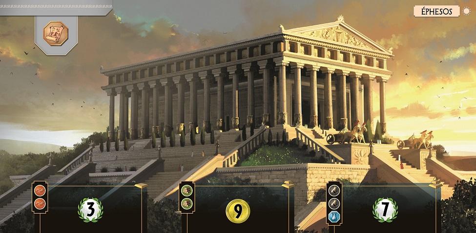 Świątynia Artemidy w Efezie z gry 7 cudów świata