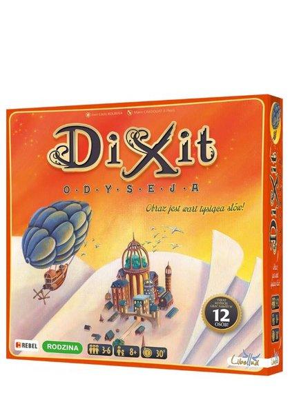 Okładka gry planszowej Dixit: Odyseja