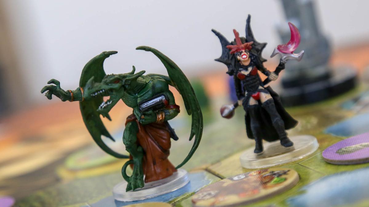 Figurka z gry planszowej Mage Knight