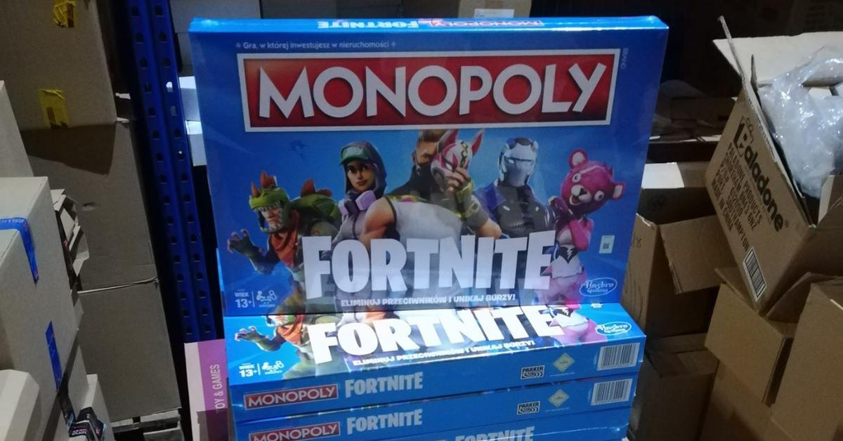 Monopoly Fortnite sklep