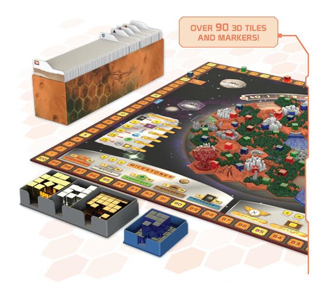 Rebel Terraformacja Marsa Big Box Zawartość