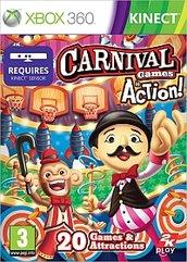 Carnival Games in Action - 20 gier w 1! - dla sensora Kinect (X360)