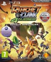 Ratchet & Clank: 4 za Jednego PL/ANG (PS3)