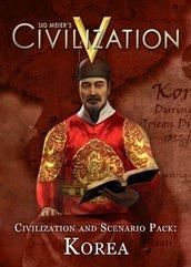 Sid Meier's Civilization V DLC Civilization and Scenario Pack: Korea (PC) PL DIGITAL