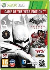 Batman: Arkham City Game of the Year Edition (X360)