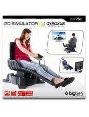 GYROXUS 3D - bezprzewodowy żyroskopowy fotel z padem (PS3)