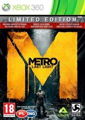 Metro: Last Light - Edycja Limitowana (X360) PL + DLC