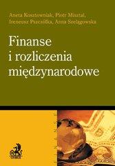 Finanse i rozliczenia międzynarodowe