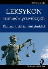 Leksykon terminów prawniczych (włoski) Dizionario dei termini giuridici