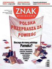 Miesięcznik Znak. Lipiec - sierpień 2012