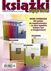 Magazyn Literacki KSIĄŻKI - Nr 9/2008 (144)