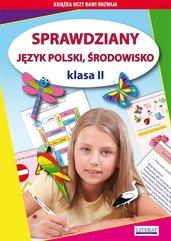 Sprawdziany. Język polski, środowisko. Klasa II
