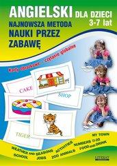 Angielski dla dzieci 3-7 lat. Najnowsza metoda nauki przez zabawę. Karty obrazkowe – czytanie globalne. Numbers 11-20, Weather a