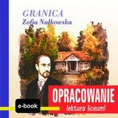 Granica (Zofia Nałkowska) - opracowanie