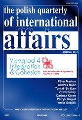 The Polish Quarterly of International Affaiers 4/2012