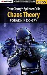 Tom Clancy's Splinter Cell: Chaos Theory - poradnik do gry