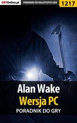 Alan Wake - poradnik do gry