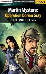 Martin Mystere: Operation Dorian Gray - poradnik do gry