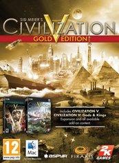 Sid Meier's Civilization V: Gold Edition (MAC) DIGITAL