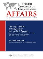 The Polish Quarterly of International Affairs 2/2013