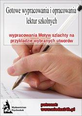 Wypracowania - Motyw szlachty