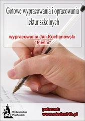 Wypracowania Jan Kochanowski - Pieśni