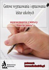 """Wypracowania - Julian Ursyn Niemcewicz """"Powrót posła"""""""