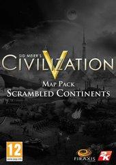 Sid Meier's Civilization V: Scrambled Continents DLC (PC) DIGITAL