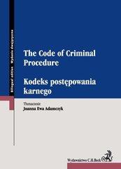 Kodeks postępowania karnego. The Code of Criminal Procedure