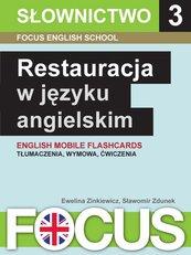Restauracja w języku angielskim. Zestaw 3