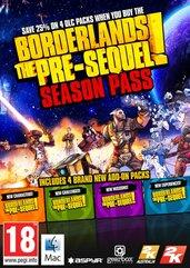 Borderlands The Pre-Sequel Season Pass (MAC) DIGITAL