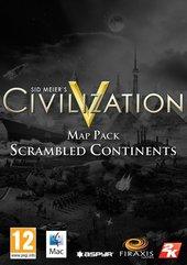 Sid Meier's Civilization V: Scrambled Continents Map Pack (MAC) DIGITAL