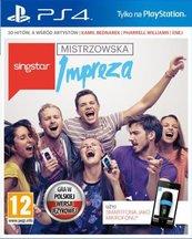 SingStar: Mistrzowska Impreza (PS4)