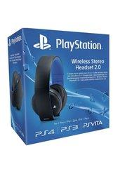 Bezprzewodowe słuchawki Sony stereo z mikrofonem 2.0 (PS4)