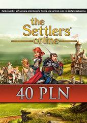 The Settlers Online doładowanie 40 PLN (PC) DIGITAL