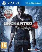 Uncharted 4 : Kres Złodzieja (PS4) PL