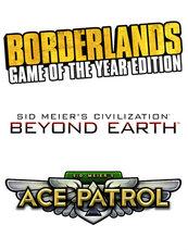 Civilization Beyond Earth/Ace Patrol Bundle/Borderlands GOTY (PC) PL DIGITAL