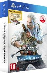 Wiedźmin III: Dziki Gon - Serca z Kamienia Edycja Limitowana (PS4) PL