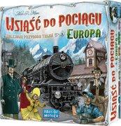 Wsiąść do Pociągu: Europa (Gra Planszowa)