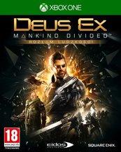 Deus Ex: Rozłam Ludzkości Edycja Kolekcjonerska (Xbox One) PL