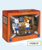 TissoToys: Miś Uszatek i Prosiaczek (Zabawki)