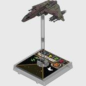 X-Wing: Zestaw Dodatkowy - Myśliwiec typu Kihraxz (Gra Figurkowa)
