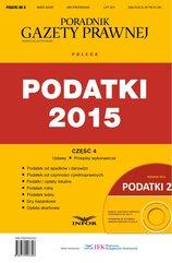 Podatki 8/15-Podatki 2015. Część 4 - Podatki od spadków i darowizn, PCC, Podatki i opłaty lokalne